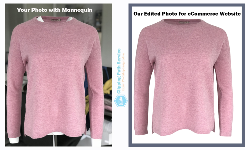 Apparel Photo Post production service