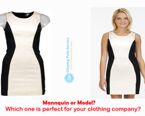 Model or Mannequin? Which is the Best Option to Take Apparel or Garments Dress Photo